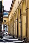 The Vasari Corridor (Corridoio Vasariano), UNESCO World Heritage Site, Florence, Tuscany, Italy, Europe