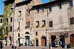 San Gimignano, UNESCO World Heritage Site, Toscane, Italie, Europe