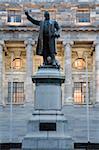 Statue de Richard John Seddon au Parlement, Wellington, North Island, New Zealand, Pacifique