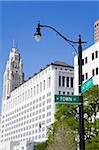 Ohio Judicial Center and Leveque Tower, Columbus, Ohio, United States of America, North America