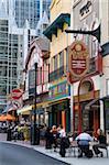 Restaurants am Marktplatz, Pittsburgh, Pennsylvania, Vereinigte Staaten von Amerika, Nordamerika