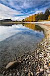 Couleurs d'automne à côté du lac Wanaka, Otago, île du Sud, Nouvelle-Zélande, Pacific