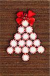 Pfefferminz-Bonbon-Weihnachtsbaum