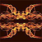Energy burst smoke pattern