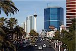 Overview of Strip, Las Vegas, Nevada, USA