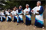 Local Village Festival, Akakina Castle Site, Akakina Village, Amami Oshima, Amami Islands, Kagoshima Prefecture, Japan