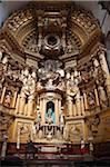 Main Altar in Church of San Francisco, Mexico City, Mexico