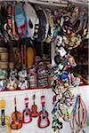 A souvenir stall, Merced Market, Mexico City, Mexico