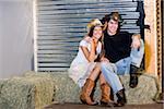 Americana - portrait de couple ouest pays