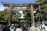 Torii, Yasukuni Shrine, Tokyo, Japan