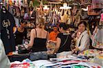 Shopping at Womens Street, Mongkok, Hong Kong