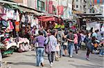 Einkaufen bei Womens Street, Mongkok, Hong Kong