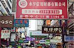 Signboards at Mongkok, Hong Kong