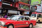 Busy Nathan Road, Mongkok, Hong Kong
