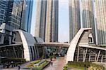 Luxurious apartments at Kowloon West, Hong Kong