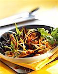 moules aux légumes aromatisé au safran