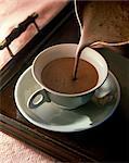 Cup of hot chocolat