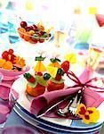 decorated fruit