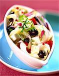Salade grecque à la chicorée