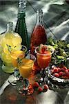 Boissons de fruit cocktail