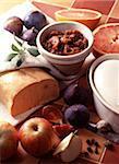 Foie gras and fig confit