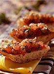 Tuna and grain mustard tartare