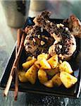 Cari de poulet épicé