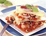Lasagne de fruits de mer