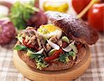 Sandwich pain bagnat