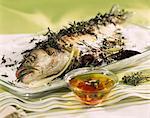 saumon grillé aux herbes