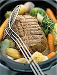 roast beef and vegetable stew