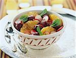 Salade marocaine avec radis