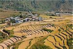 Yuwakha village, en route to Chimi Lhakhang.