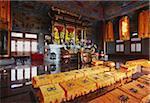 Interior of Western Monastery, Tsuen Wan, New Territories, Hong Kong, China