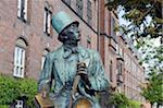 Europe, Scandinavia, Denmark, North Zealand Copenhagen, Hans Christian Andersen statue