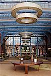 Interior of the St. Pancras Renaissance Hotel, London, UK