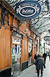 Schokolade Shop im Zentrum von Annecy, Haute Savoie, Frankreich