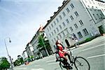 Street in Maxvorstadt, Munich, Germany