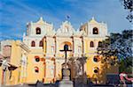 Central America, Guatemala, Antigua, La Merced church