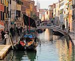 Traditional architecture, Venice, Veneto region, Italy