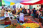 État d'Amérique du Nord, au Mexique, Oaxaca, Tlacolula Sunday market,