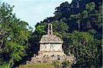 North America, Mexico, Chiapas state, Palenque, Mayan ruins