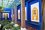 Jardin Majorelle, The Majorelle Garden is a botanical garden in Marrakech, Morocco.