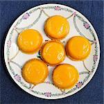 Cascais sweet eggs. Portugal