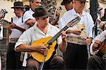 San Cristobal groupe folklorique traditionnel. Las Palmas de Gran Canaria, îles Canaries
