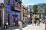 Teror, une charmante ville avec certains des meilleurs exemples d'architecture coloniale. Gran Canaria, îles Canaries