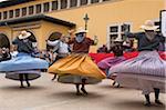 Traditionelle Tänze in Palma De Mallorca, Mallorca, Balearen, Spanien
