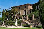L'hôtel La Residencia, Deia, Deya, Majorque, îles Baléares, Espagne