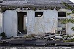Verlassenes Haus in Grenada, West Indies.
