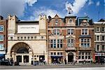 Whitechapel Art Gallery, Londres, Angleterre. Architectes : Galerie de Charles Harrison Townsend, bibliothèque de Potts, fils & Hennings, expansion par Robbrecht fr Daem